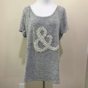 T shirt with bling